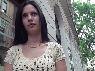 GERMAN SCOUT - 18yr OLD SMALL TEEN SEDUCE TO FUCK AT PUBLIC CASTING BY HUGE DICK STRANGER >13 min