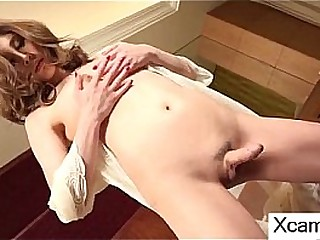 beauty (18 year) with boobs and dick